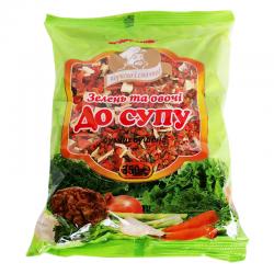 Суміш овочів Огородник зелень і овочі до супу 350 г