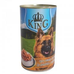 Корм King dog вологий зі смаком птиці 415г