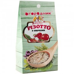 Суміш для приготування Різотто з овочами Огородник 200 г