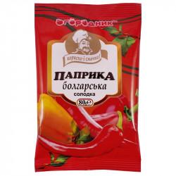 Паприка болгарська солодка мелена Огородник 80 г