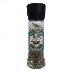 Сіль морська із прованськими травами Огородник в млину 240 г