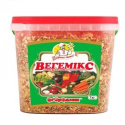 Приправа універсальна з овочів Огородник Вегемікс 1,0 кг Відро