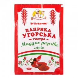 Паприка угорська червона гостра Огородник мелена 80 г
