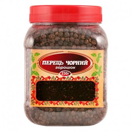 Перець чорний горошок 230г