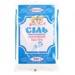 Сіль кухонна Огородник Екстра 800 г