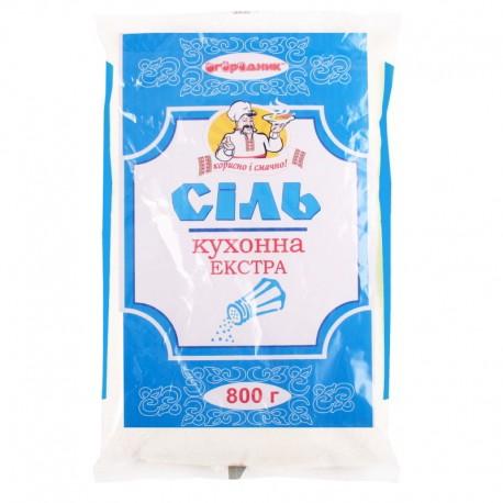 Сіль кухонна Екстра 800г