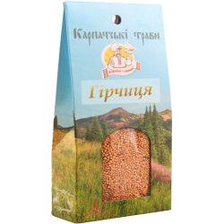 Приправа Гірчиця Карпатські трави 50 г