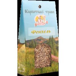 Приправа Фенхель Карпатські трави 50 г
