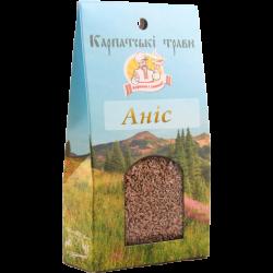 Приправа Аніс Карпатські трави  50 г