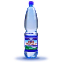 Вода мінеральна Шаянська Шаянські мінеральні води газована 1.5 л