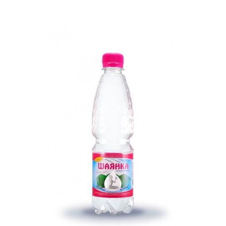 Вода мінеральна ШАЯНКА газована 0,5л ПЕТ