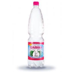 Вода мінеральна Шаянка Шаянські мінеральні води газована 1.5 л