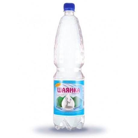 Вода мінеральна ШАЯНКА негазована 1,5л ПЕТ