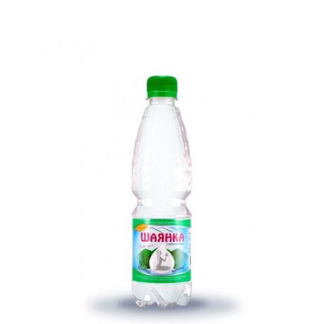 Вода мінеральна ШАЯНКА слабогазована 0,5л ПЕТ