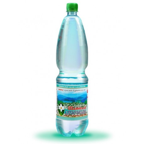 Вода питна ДЖЕРЕЛЬНА слабогазована 1,5л ПЕТ
