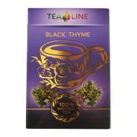 Tea Line - Black thyme – чорний листовий байховий чай 90 г