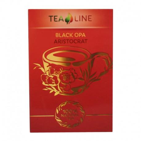 Tea Line - Black opa aristocrat чорний крупно листовий чай 90 г