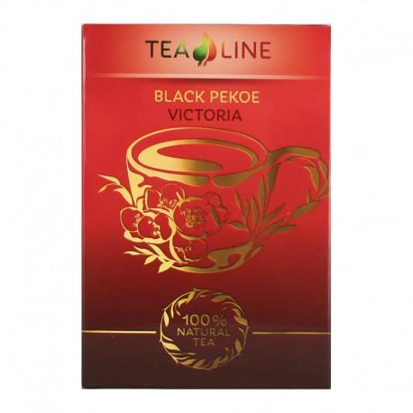 Tea Line  Black pekoe viktoria - чорний середньолистовий  чай 90 г
