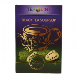 Tea Line  Black tea soursop - чорний чай з ароматом соусепа 90 г