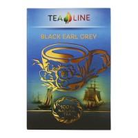 Tea Line Black earl grey – чорний чай з ароматом бергамот 90 г