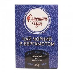 Сімейний чорний чай з ароматом бергамоту  100 г