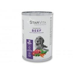 Вологий корм Starvita 400 г телятина з морквою