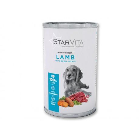 Вологий корм Starvita 800 г баранина з картоплею