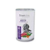 Вологий корм Starvita 800 г для собак, з телятиною і морквою
