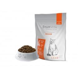Сухий корм Starvita 1.5 кг для домашніх кішок