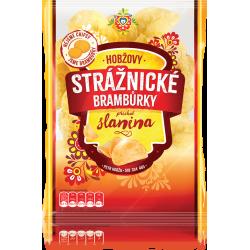 Чіпси картопляні Strážnické зі смаком бекону 60 г