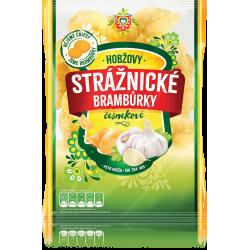Чіпси картопляні Strážnické зі смаком часнику 60 г