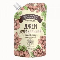 Джем Національні білоруські  традиції Журавлина 0,250г дой-пак
