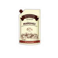 "Майонез Національні білоруські традиції ""Столовий"" 67% 300гр дой-пак"