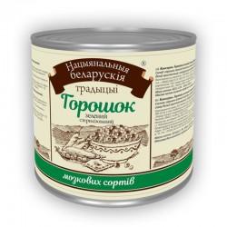 Горошок зелений консервований Національні білоруські традиції 420г ж/б