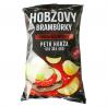 Чіпси картопляні Hobžovy зі смаком чилі та лайму 150 г