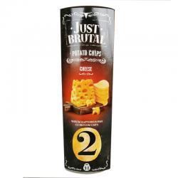 Чіпси картопляні Just Brutal (2) зі смаком сиру 90 г